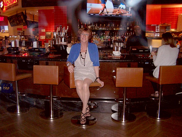 There's lots of room at the bar, Would anyone care to join me for a wee drinky poo or two?