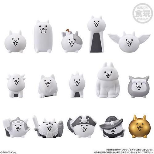 貓咪軍團集結喵!BANDAI CANDY 「貓咪大戰爭 小夥伴」食玩(にゃんこ大戦争キッズ)全15款