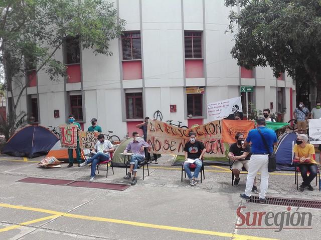 Huelga de hambre USCO 2020
