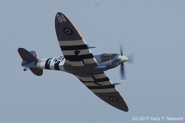 Reno Air Races 2017 - Supermarine Spitfire Mk. IXc Race #84