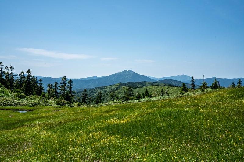 会津駒ヶ岳から燧ヶ岳