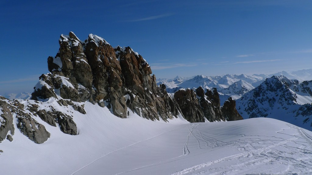 Piz Kesch - Chamanna Kesch Albula Alpen Schweiz foto 12