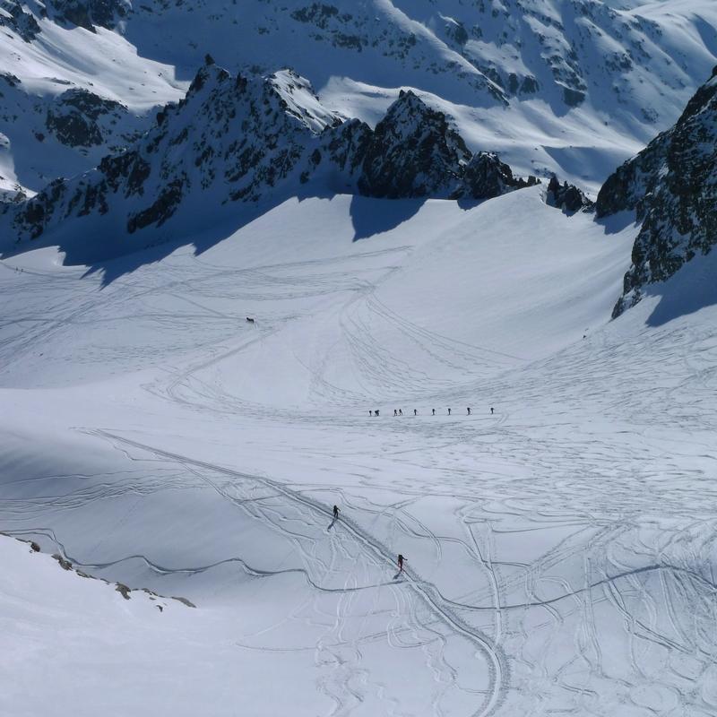 Piz Kesch - Chamanna Kesch Albula Alpen Schweiz foto 30