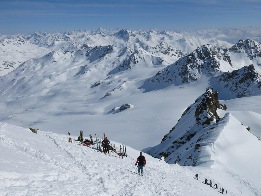 Piz Kesch - Chamanna Kesch Albula Alpen Schweiz foto 28