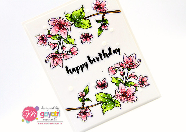 Birthday card #1 closeup1