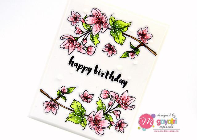 Birthday card #1 closeup3