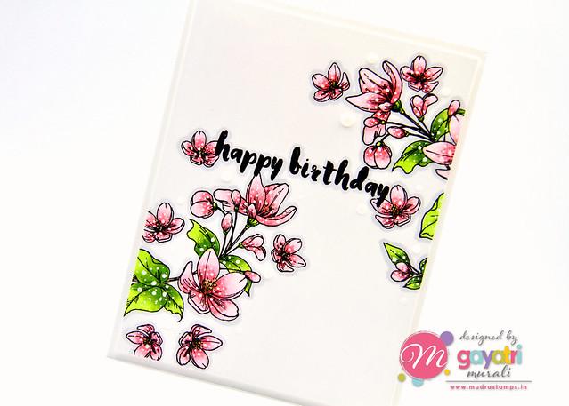 Birthday card #2 closeup2