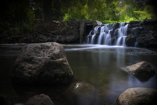 Falls and Rocks