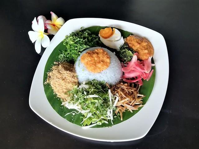 Nasi kerabu from Peter
