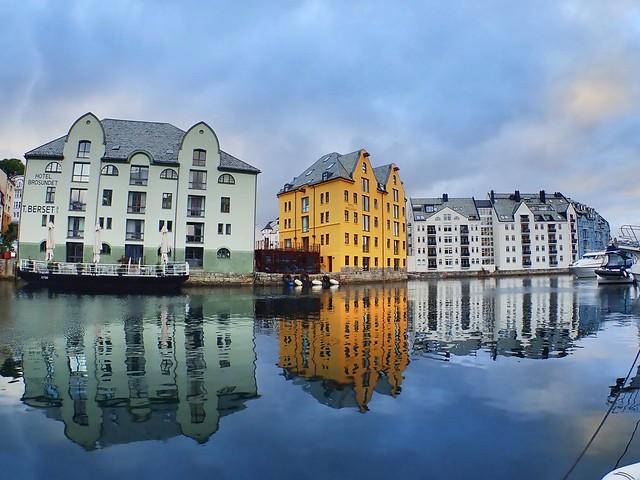 Reflections. Ålesund, Norway. In Explore