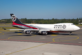 B-2423 Boeing 747-4EVF(ER) SF Airlines (ShunFeng Airlines), Liege Airport - EBLG/LGG | by neplev1
