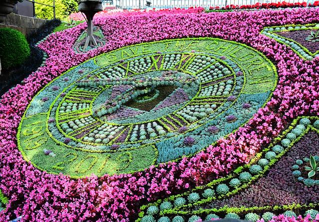 Floral Clock, Edinburgh, Scotland