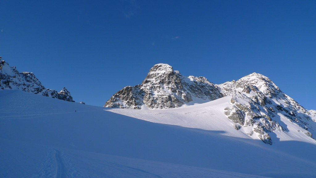 Piz Kesch - Chamanna Kesch Albula Alpen Švýcarsko foto 21