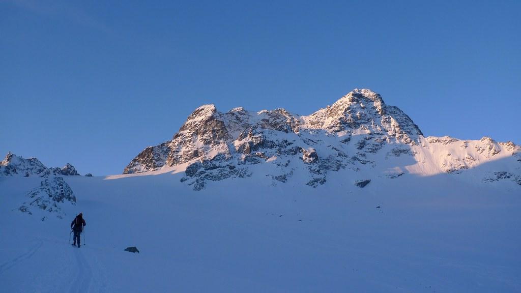 Piz Kesch - Chamanna Kesch Albula Alpen Schweiz foto 06