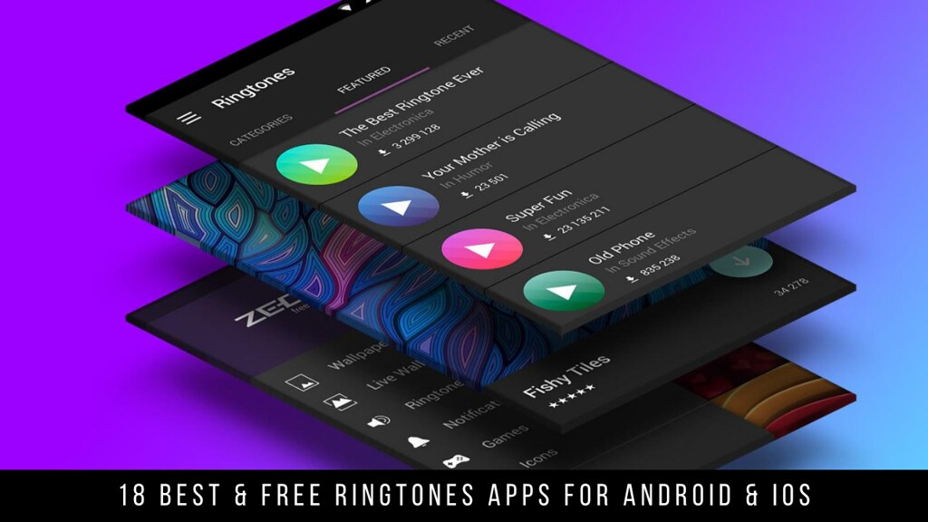 18 Best & Free Ringtones Apps For Android & iOS