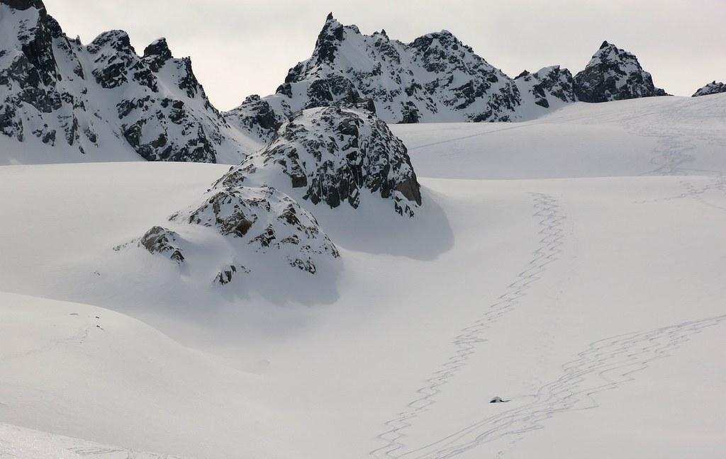 Piz Kesch - Chamanna Kesch Albula Alpen Schweiz foto 01