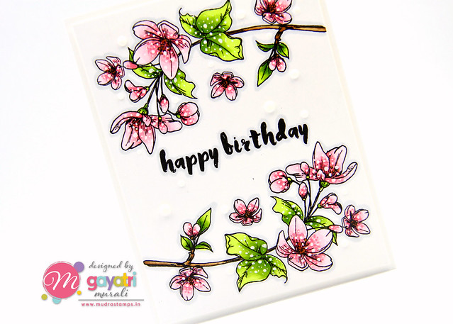 Birthday card #1 closeup2