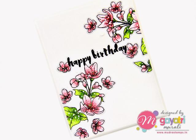 Birthday card #2 closeup