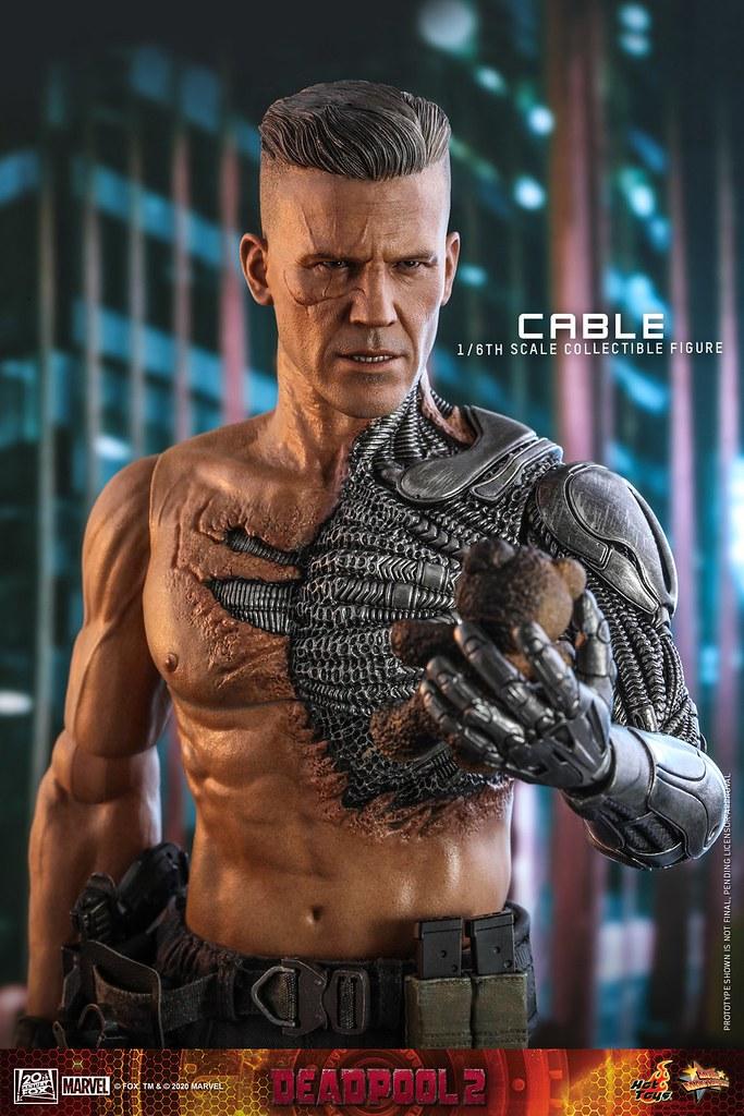 機械手臂、超大把重型機槍帥爆! Hot Toys《死侍2》機堡(Cable)1/6 比例人偶 公開