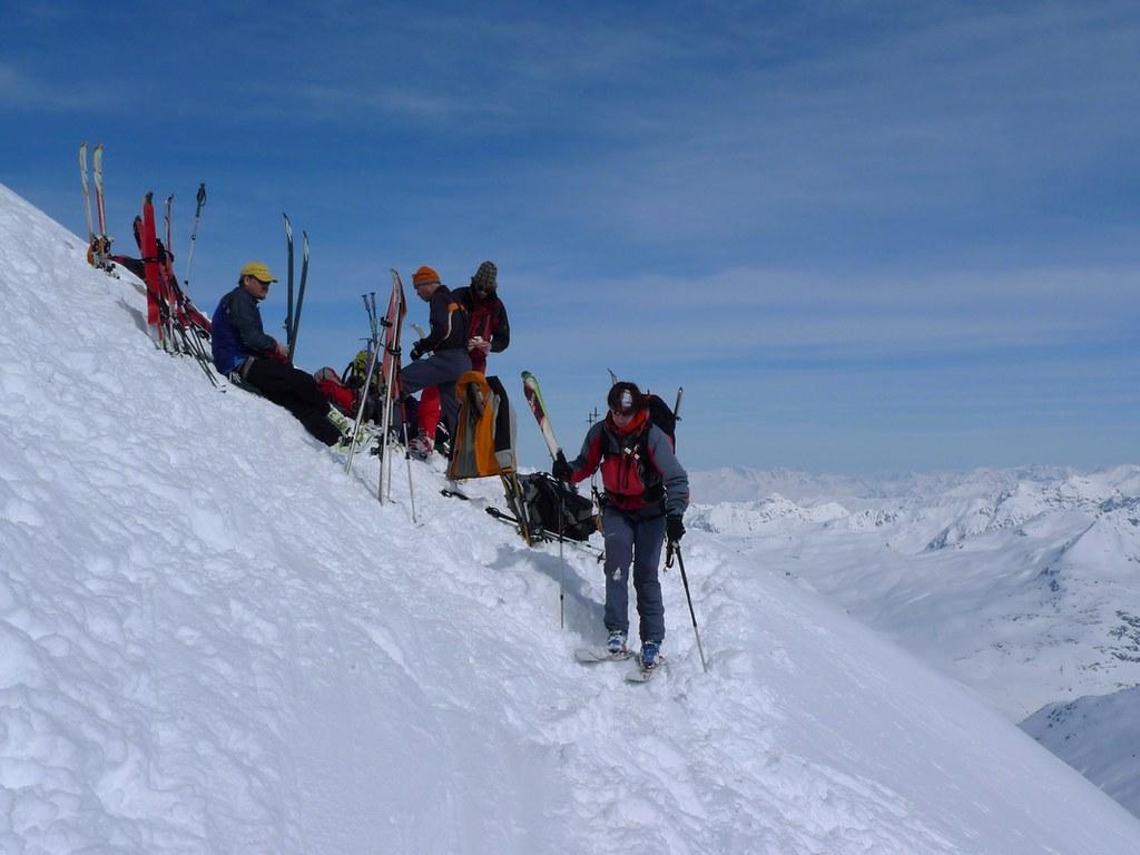 Piz Kesch - Chamanna Kesch Albula Alpen Schweiz foto 16