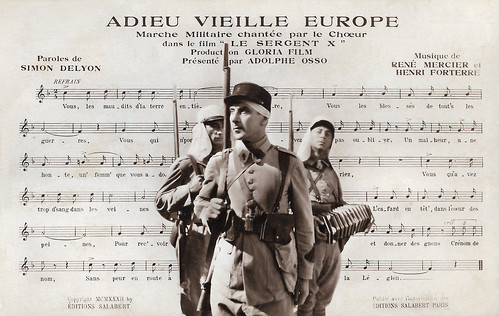Ivan Mozzhukhin in Le Sergent X (1932)