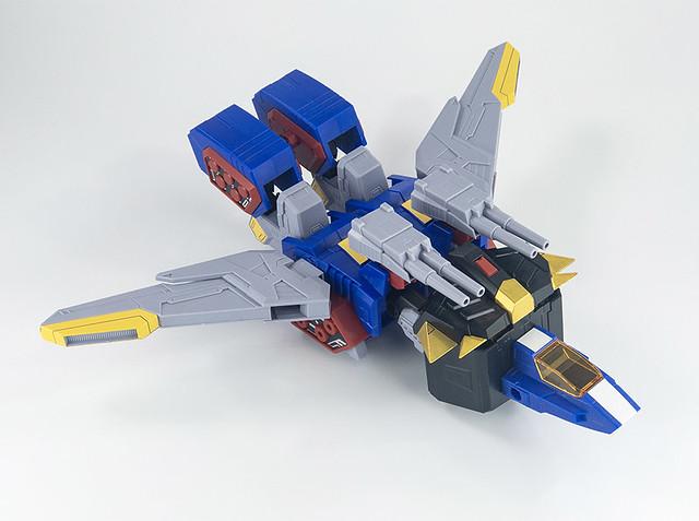 終於能夠合體出 King Gosaurer 了!HG 1/300《熱血最強 GO-SAURER》三角龍 Gransaurer(グランザウラー)組裝模型
