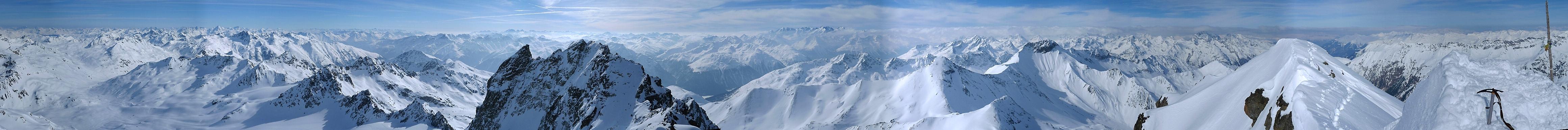 Piz Kesch - Chamanna Kesch Albula Alpen Schweiz panorama 40
