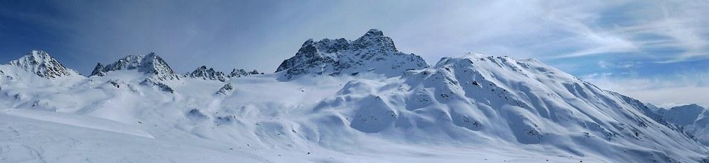 Keschhütte / Chamanna digl Kesch Albula Alpen Švýcarsko foto 02