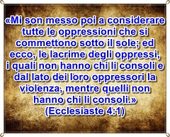 Gli oppressori dei miseri saranno giudicati da Dio e puniti