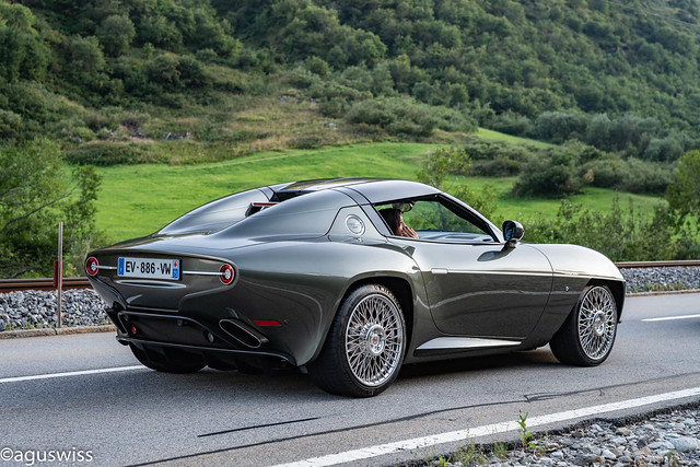 Alfa Touring Superleggera Disco Volante