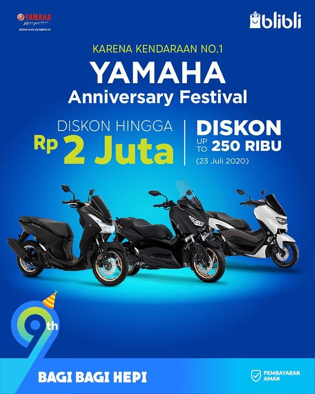 Promo Ulang Tahun Yamaha 2020