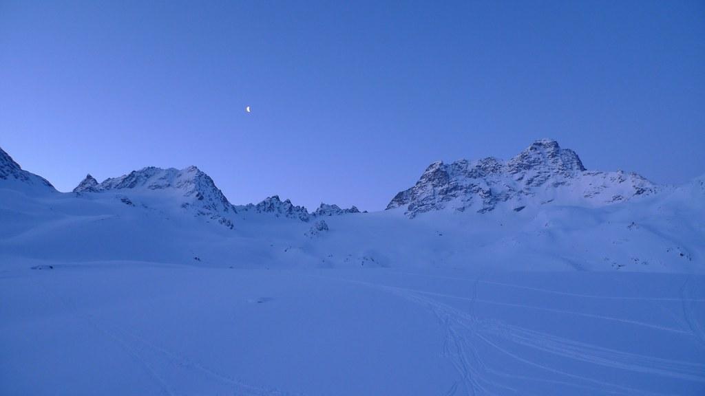 Piz Kesch - Chamanna Kesch Albula Alpen Švýcarsko foto 18