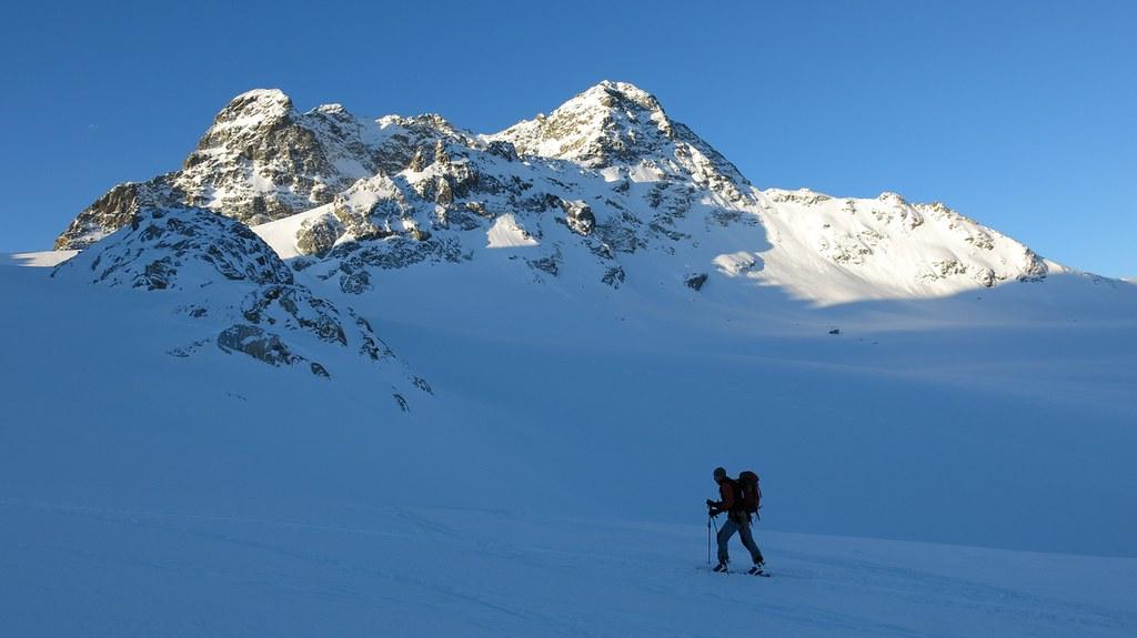 Piz Kesch - Chamanna Kesch Albula Alpen Schweiz foto 08