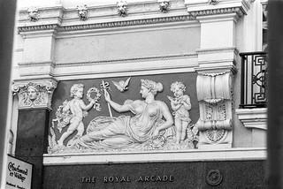The Royal Arcade, Old Bond St, Mayfair, Westminster, 1987 87-5l-11-positive_2400