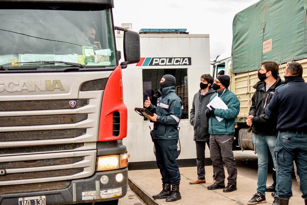 2020-07-22 GOBIERNO Relevamiento del transporte de carga en accesos interprovinciales