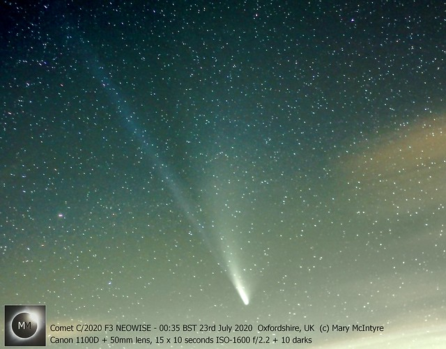 Comet C/2020 F3 NEOWISE - 00:35 BST 23/07/20