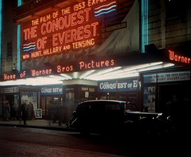Warner Theatre, Leicester Square, London, 1953