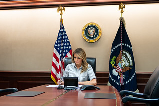 First Lady Melania Trump Participates in a Conference Call | by The White House