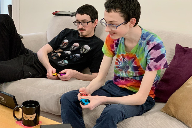 Playing Switch together