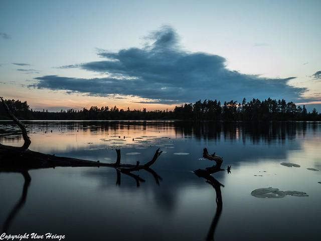 Sonnenuntergang am Läen 062019 09