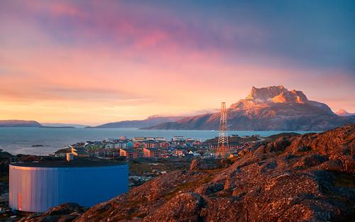 greenland nuuk evening sunset sermitsiaq residences i500 interestingness362 explore20200724