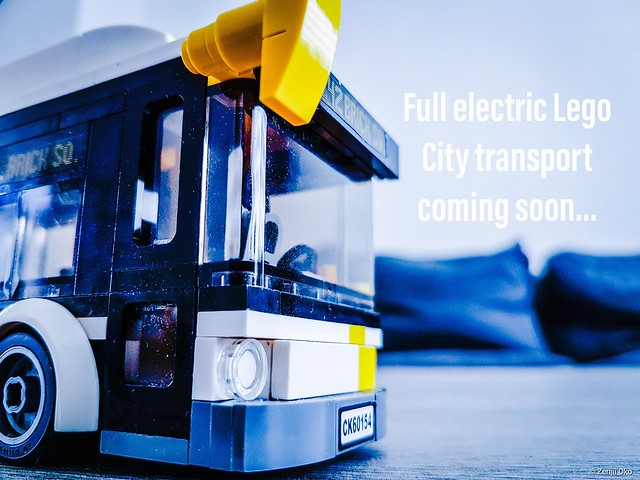 New electric City bus teaser...