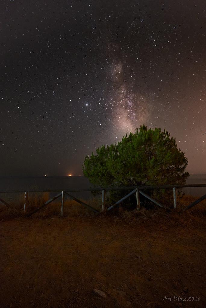 El balcón nocturno