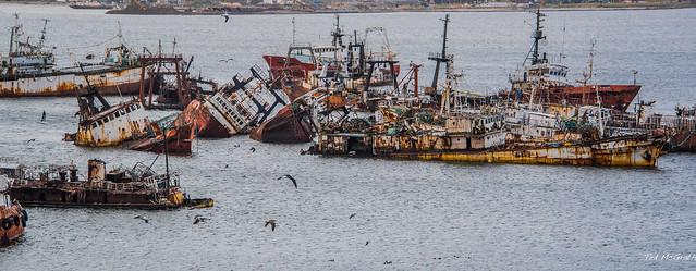 2020 - Uruguay - Montevideo - Port Montevideo Derelicts