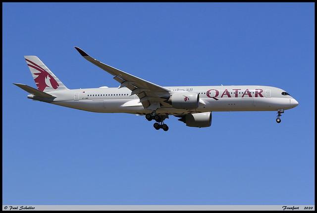 AIRBUS A350 941 QATAR A7-AMG 207 Frankfurt juin 2020