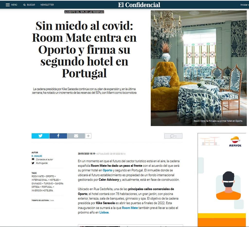 Room Mate Hotel Oporto