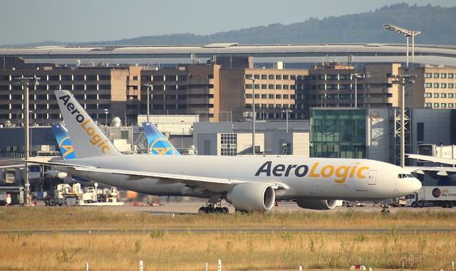 AeroLogic, D-AALK, MSN 66164, Boeing 777-FBT, 04.07.2020,  FRA-EDDF, Frankfurt