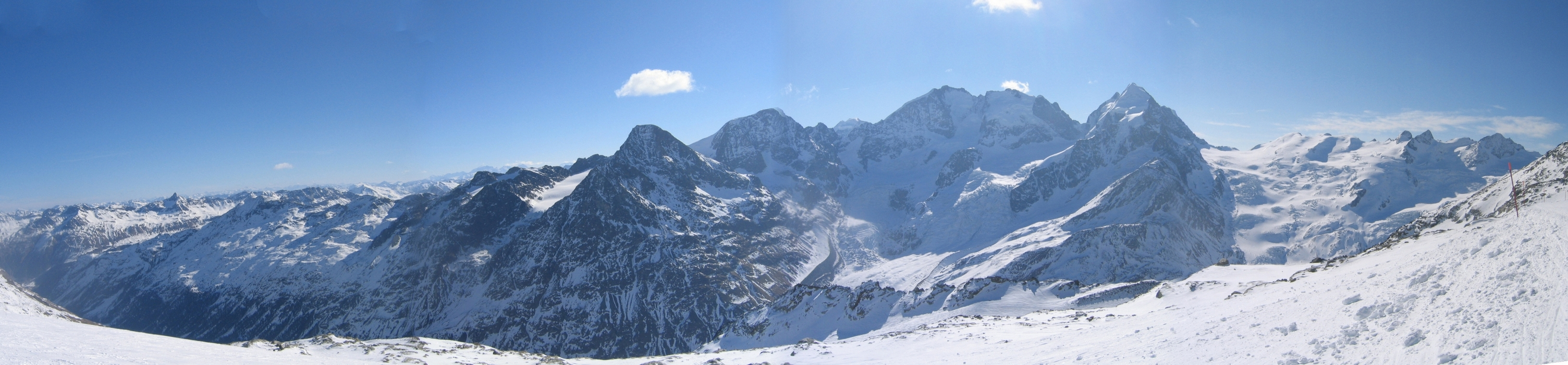 Piz Surlej - Piz San Gian Bernina Switzerland panorama 18