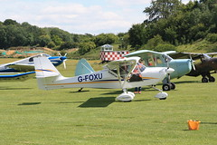 G-FOXU Aeropro Eurofox [BMAA HB 673] Popham 120720