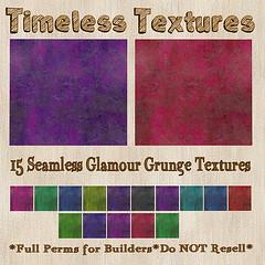 TT 15 Seamless Glamour Grunge Timeless Textures